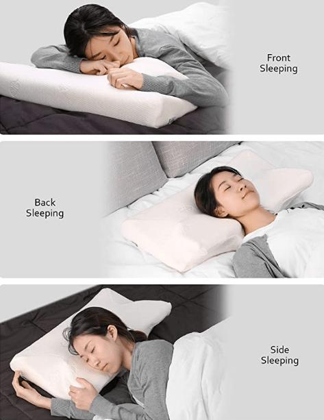 marnur cervical pillow contour memory