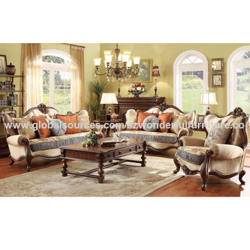 design of wood sofa set apartment size sectional sleeper china antique solid for home sets fabric