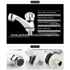 Kitchen Faucet Filter Fridge China High Quality And Classic Deck Mounted Single Hole Brushed Water