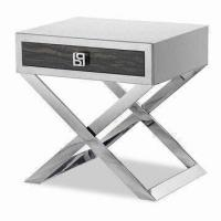 Stainless Steel Bed Side Table, Used as Night Stand, Lamp