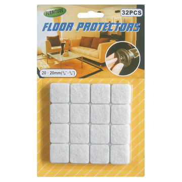 chair leg floor protector cover rentals fayetteville nc felt furniture pads adhesive round shaped 20 x 20mm size