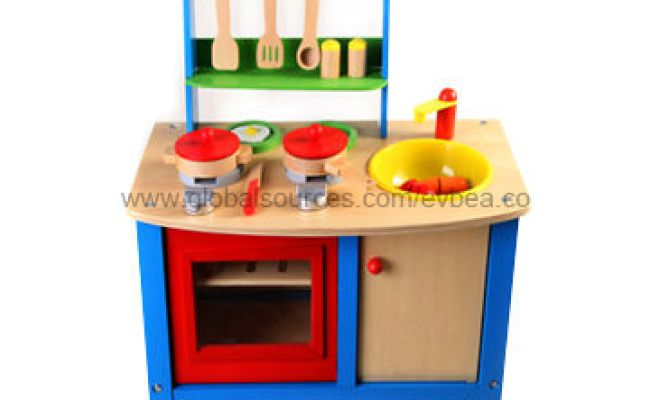 China 2013 Kids Wooden Play Kitchen Set With 51x69x31cm