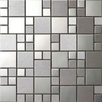 stainless steel mosaic tiles metal mosaic tiles 5mm/8mm ...