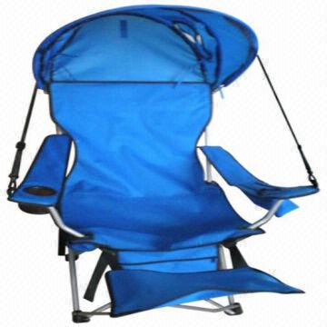 beach chairs with footrest desk chair arm pads folding camping canopy and global china