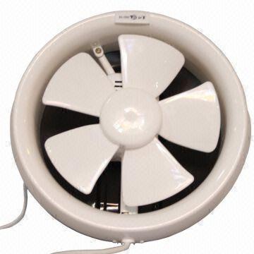 round bathroom exhaust fan ventilation