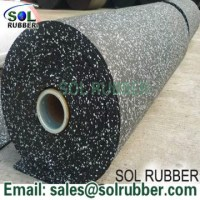 Rubber roll flooring commercial floor fitness floor sport ...