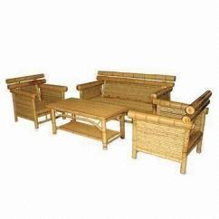 Bamboo Couch And Chairs Christmas Chair Covers Pottery Barn Natural Sofa Set Furniture Fashionable Design China Bsf123 S4 N 1 Is Supplied By Manufacturers Producers Suppliers On Global Sources Xingrui Wood Anji