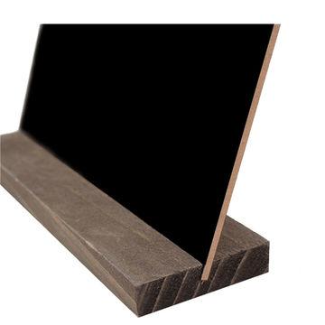wooden frame chalkboard