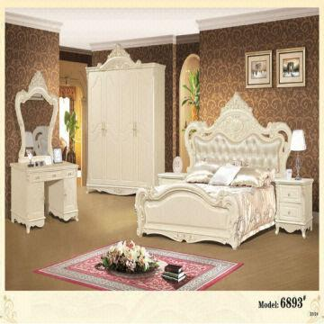 royal home furniture white modern bedroom sets , bedroom sets with