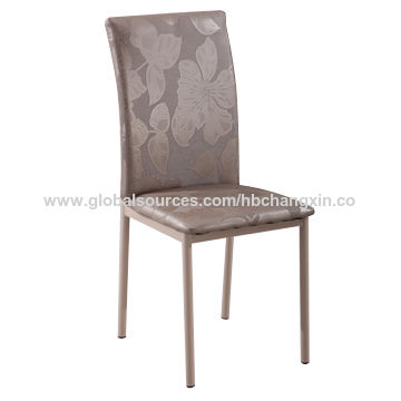 metal frame leather dining chair boone high china from bazhou trading company hebei