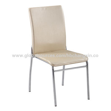 metal frame leather dining chair cheap tables and chairs for sale china from bazhou trading company hebei