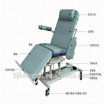 recliner bed chair leather guest hot sale hospital global sources china