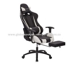 Reclining Gaming Chair Bungee Chairs Target China High Back Recliner White Office Home Computer