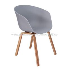 Modern Plastic Chair Pressed Back Parts Bentwood Armchair With Wood Legs Global Sources China