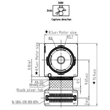 mobile phone camera module SUNNY Q8N09Q IMX179 sony sensor