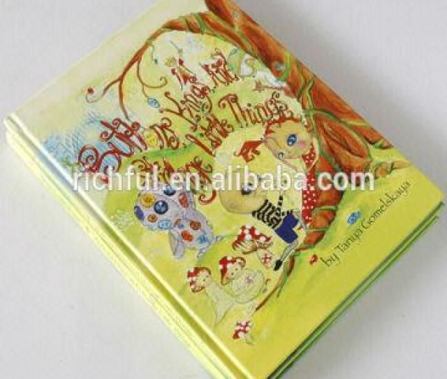 China Child Hardcover Story Book Printing Custom My Hot Book