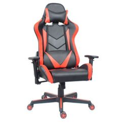 How Much Does A Gaming Chair Cost Collapsible Beach Chairs China Anji Oem Cheap New Swivel Leather White Red Office Pc