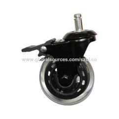 Office Chair Rollerblade Wheels Covers For The Classroom 3 Pu Casters With Brake Global China Bln 75mm 4 Is Supplied By Manufacturers Producers