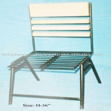 antique beach chair camp with canopy 1 iron cheap 2 folding garden chairs india 3