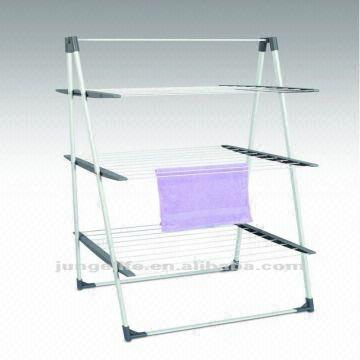 tower type indoor clothes airer and