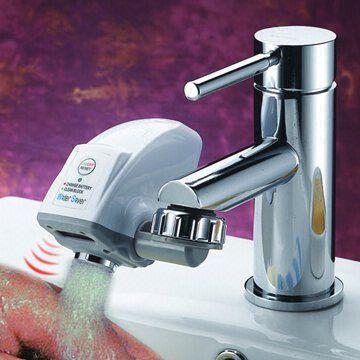 water saver faucet adapter infrared