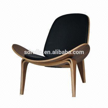 shell chair replica yoga exercises for elderly hans wegner ch07 bend wood plywood lounge china