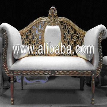 wedding sofa cloth material india gold royal for bride global sources