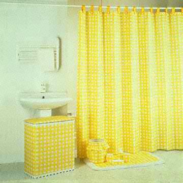 eye catching lemon yellow shower
