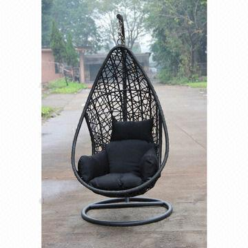 patio hanging egg chair two seat chairs swings outdoor chaise lounge leisure garden china