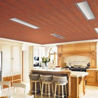 PVC wood finishes laminated ceiling panel | Global Sources