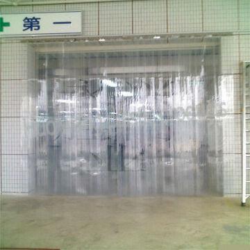 super transparent pvc plastic soft door