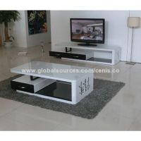 suply modern glass coffee tables unique MDF end tables TV ...