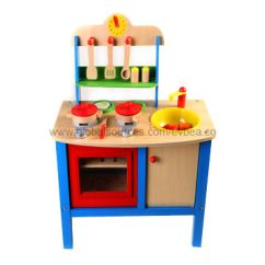 Solid Wood Toy Kitchen Black Faucet China 2013 Kids Wooden Play Set With 51x69x31cm Size Made