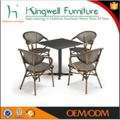 Bamboo Chairs Chair Covers Rental Vancouver Rattan Coffee Shop Restaurant Tables Used China