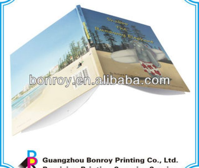 China Flexi Bound A Full Color Hardcover Book Printing Custom My Hot Book Printing