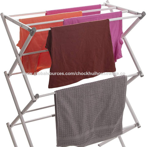 3 tier expandable foldable drying rack