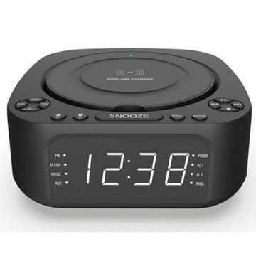 Clock Radio Cd Player Smart Alarm