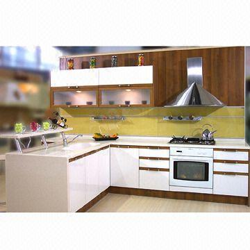 mdf kitchen cabinet doors undermount sinks at lowes lacquered faced board with various styles china of handles and wooden bar