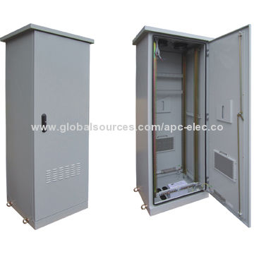 outdoor network and rack cabinet