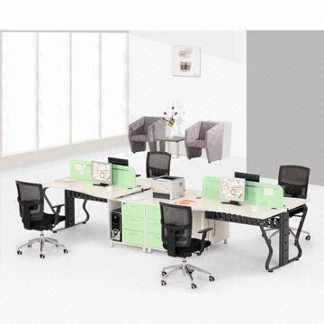 chair connected to desk farmhouse table with chairs office desks easily building and drawer cpu holder china