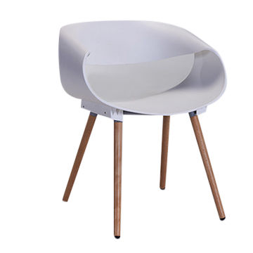 modern plastic chair high attach to table wooden leg seat event global china