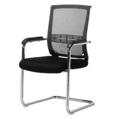Cloth Office Chairs Thonet Chair Styles China Wholesale Low Price Fabric Seat Mesh Back No
