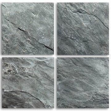 slate tiles with 30 x 30 x 1 2cm and 30