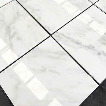 brass inlay marble tile lowes polished