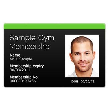 gym id card sample | zenfitt.org