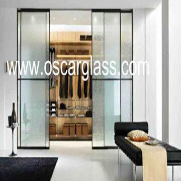 Wardrobe Decorative Glass Partition Glass Sliding Glass Door Home