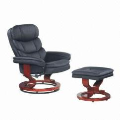 Recliner Chair With Ottoman Manufacturers Minnie Desk Black Pu Paint Bentwood Chairs Seat China