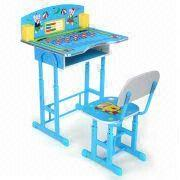 desk chair made sikes company adjustable colorful fancy children s set of china particle board