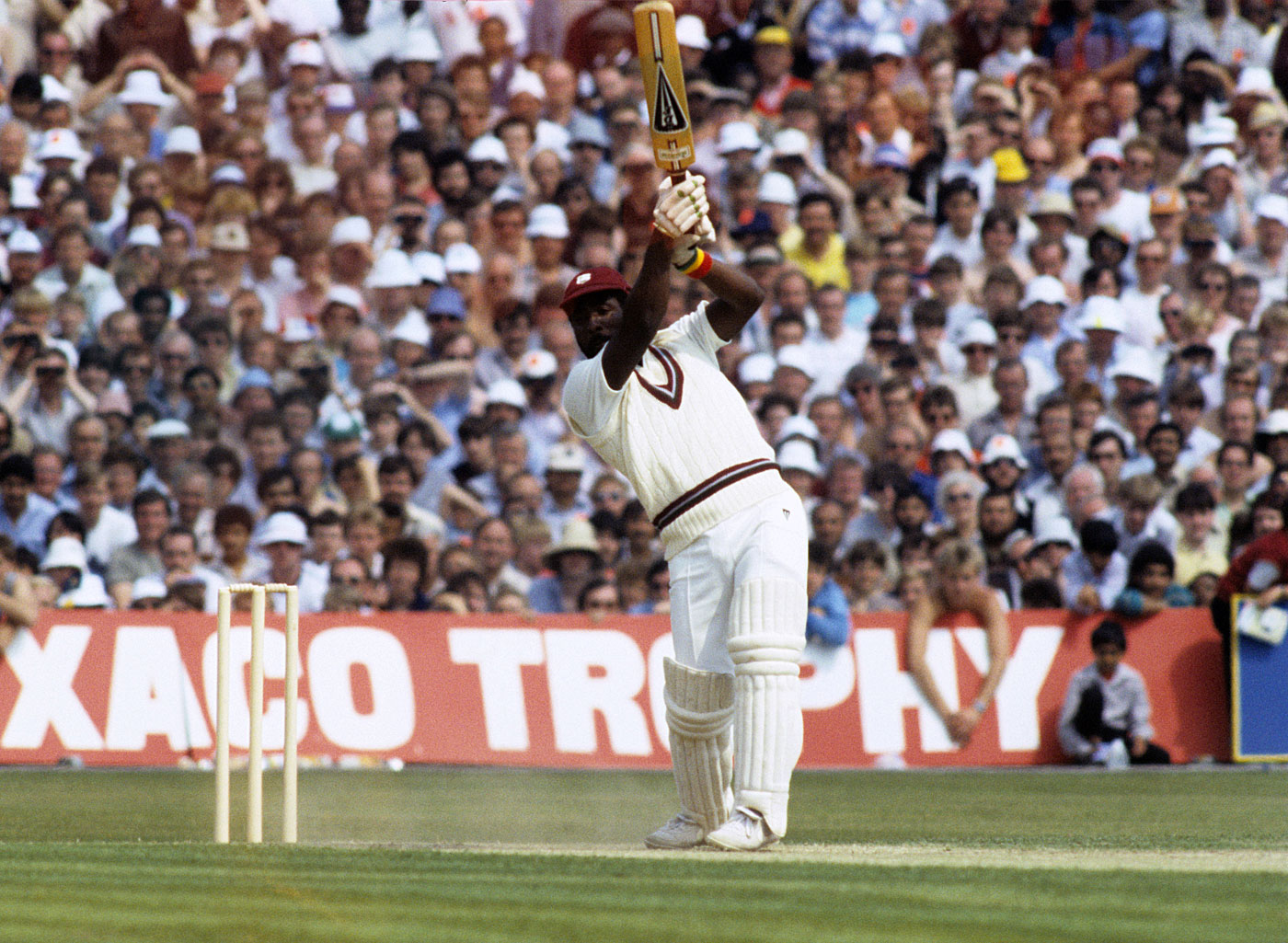 Image result for viv richards hitting a cricket ball