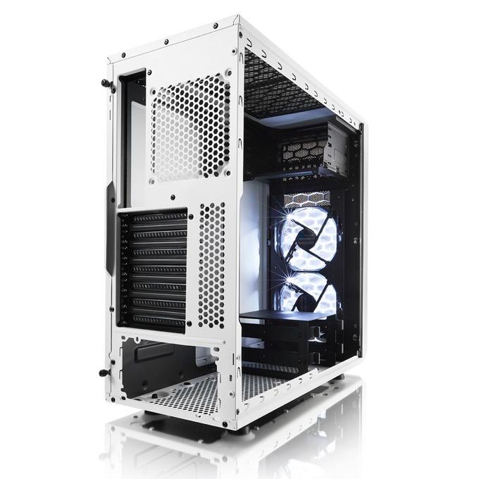 Кутия Fractal Design Focus FD-CA-FOCUS-WT-W - ниска цена от JAR Computers